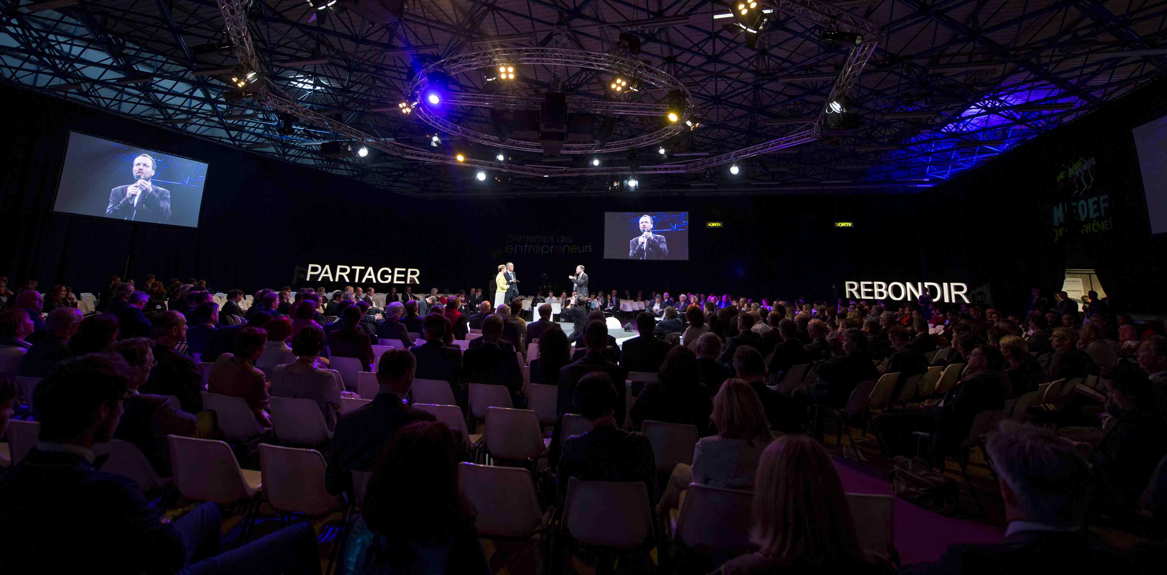 MEDEF Printemps des Entrepreneurs2014