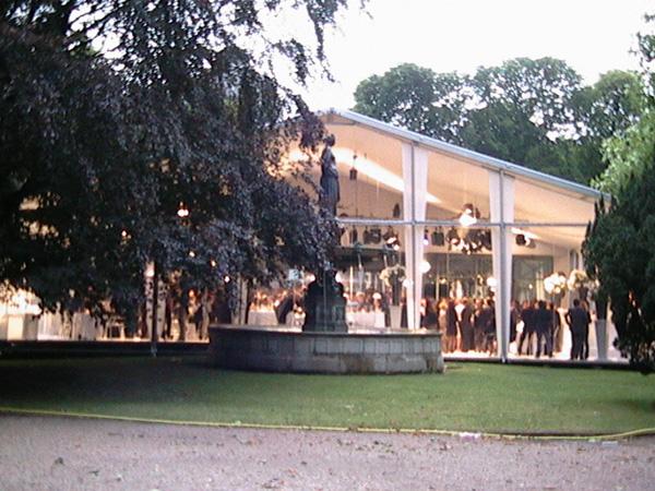 pavillon ledoyen soirée FD de la mode